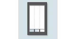 Electric Pleated Blackout Blinds for Conservation Rooflight<sup>®</sup> Model CR15-3