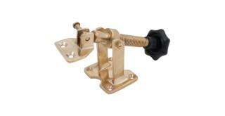 Option Y (OPTY) - Black Wheel on Brass Hand Winder (150mm)